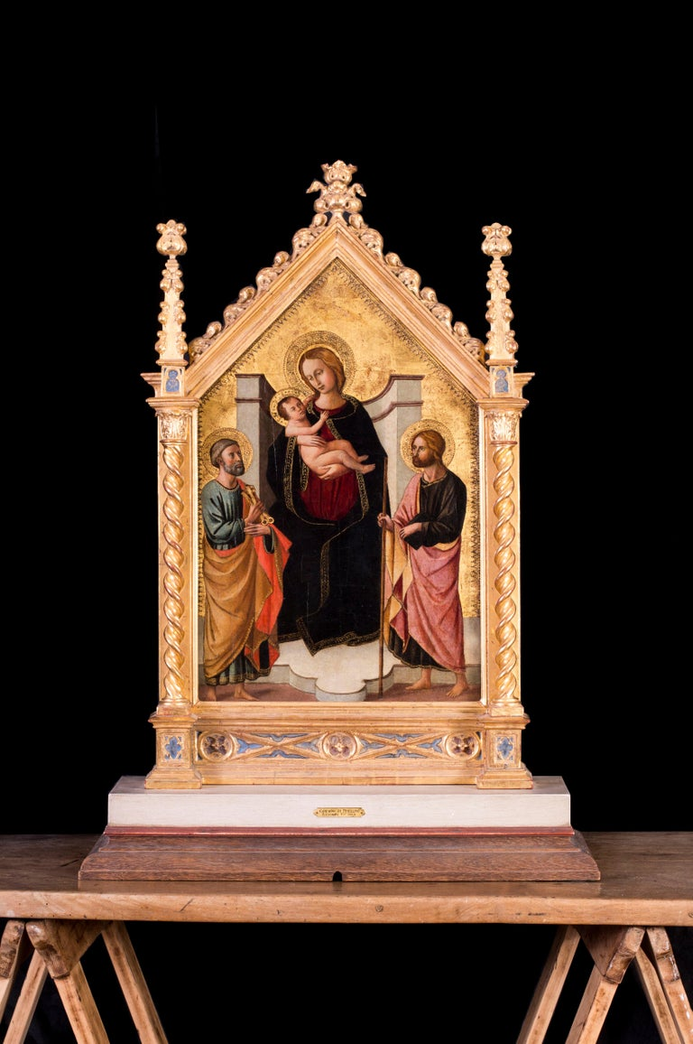 The Madonna and Child with St. Peter and John the Baptist For Sale 3