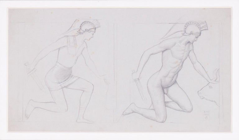 Study for 'Theseus and the Minotaur' For Sale 1