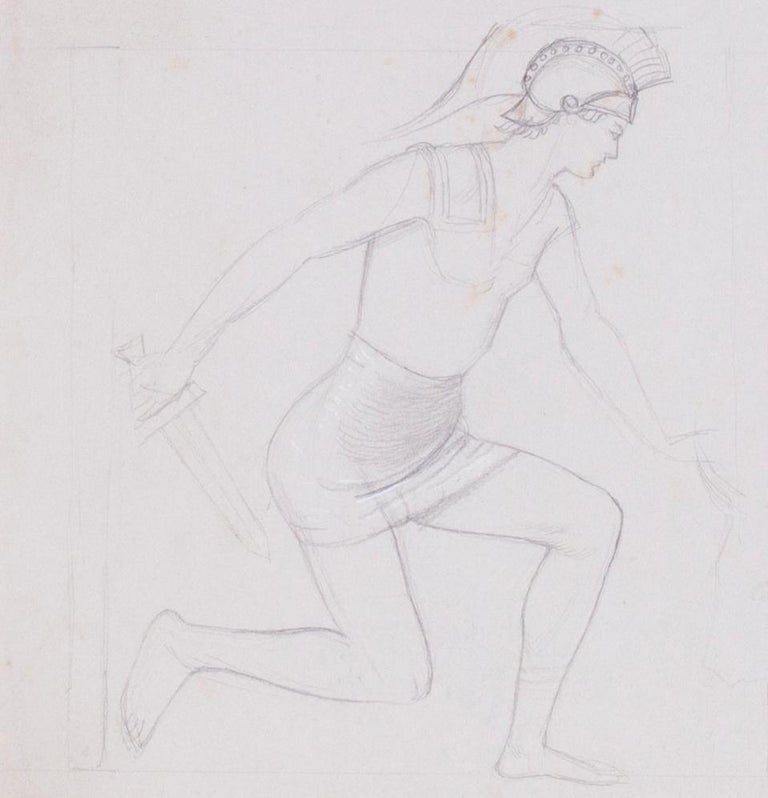 Study for 'Theseus and the Minotaur' For Sale 3