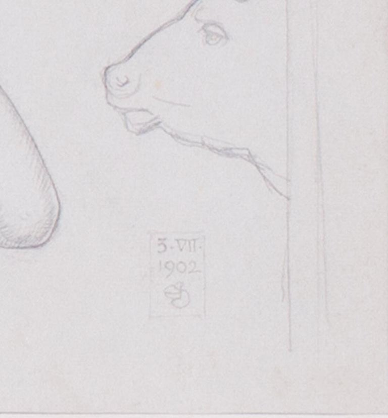 Study for 'Theseus and the Minotaur' For Sale 4