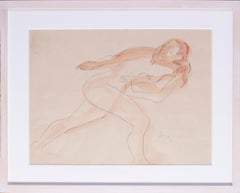 1936 drawing of a nude by Father of Modern British Sculpture Leon Underwood