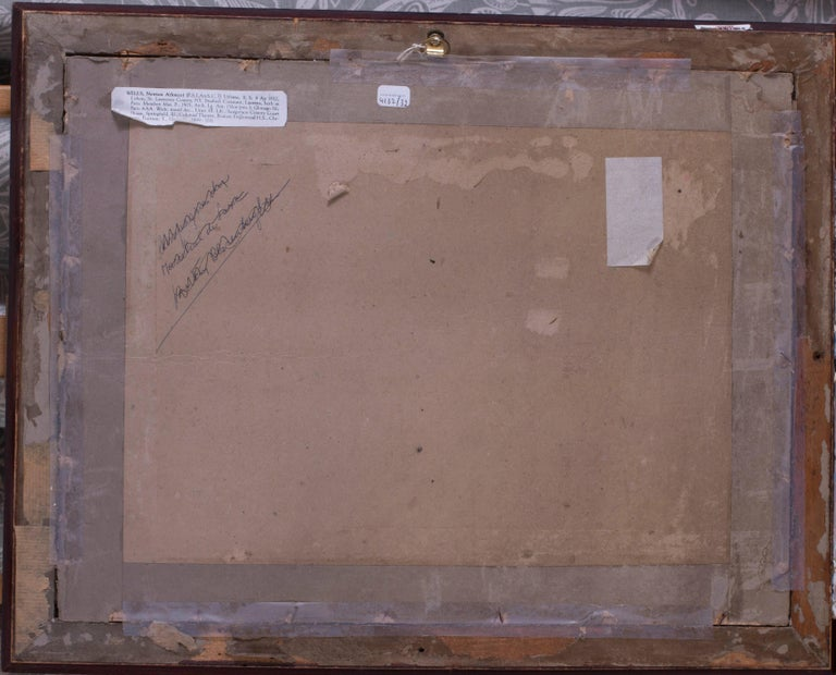 American, 19th Century oil sketch plain air, France For Sale 1