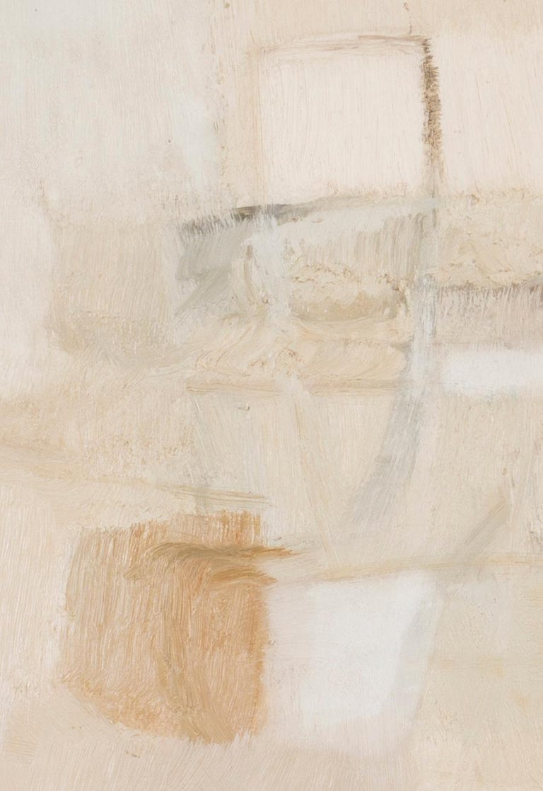 'White', Italian, abstract oil painting from 1965 by Piero Sadun  For Sale 1