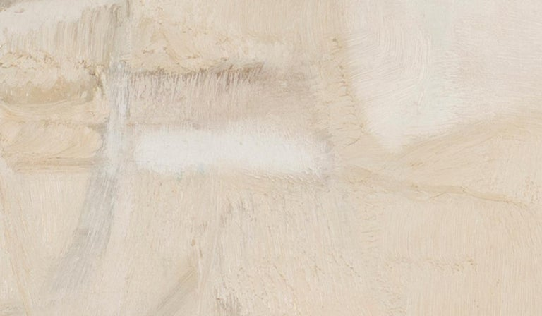 'White', Italian, abstract oil painting from 1965 by Piero Sadun  For Sale 4