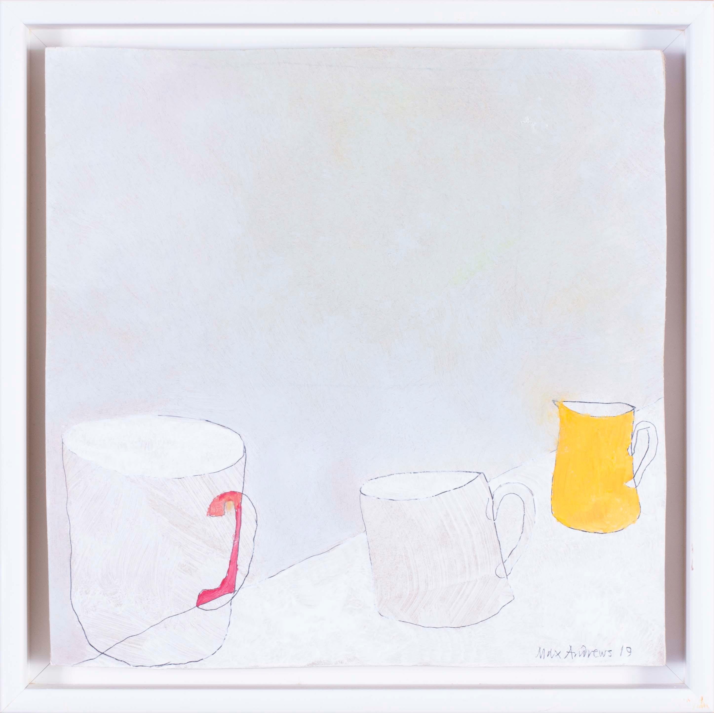British, 21st Century abstract still life 'Cups'