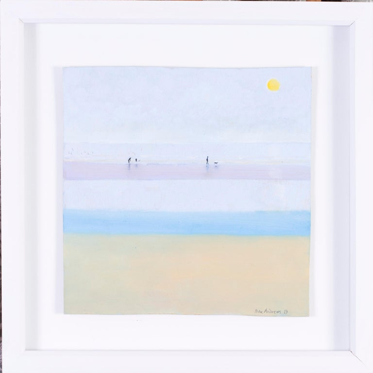 Max Andrews Landscape Painting - Along the beach