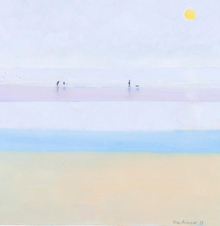 Along the beach - Painting by Max Andrews
