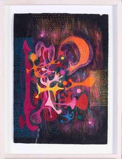 American 1960's psychedelic design by the fashion designer Ken Scott