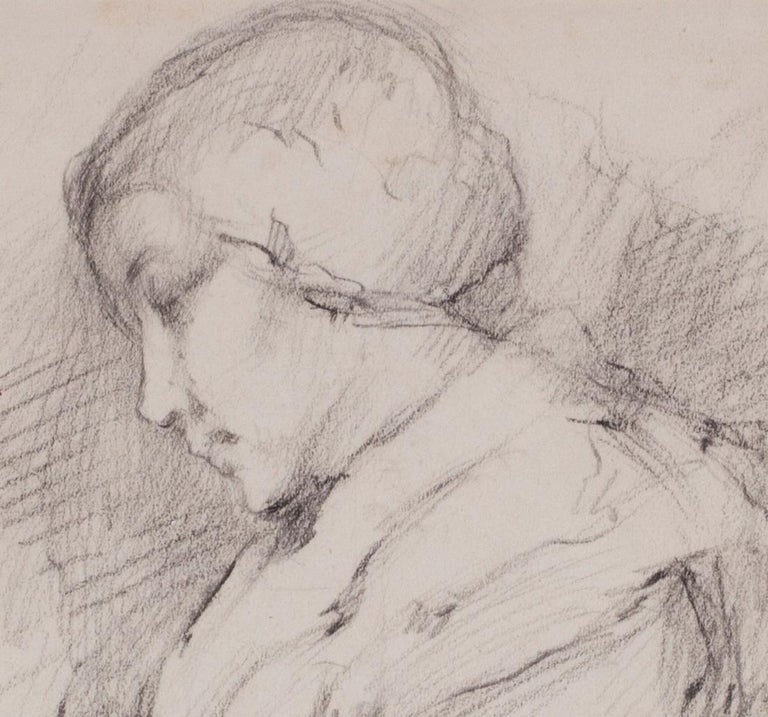 1903 portrait drawing by Marie Laurencin of her mother For Sale 2