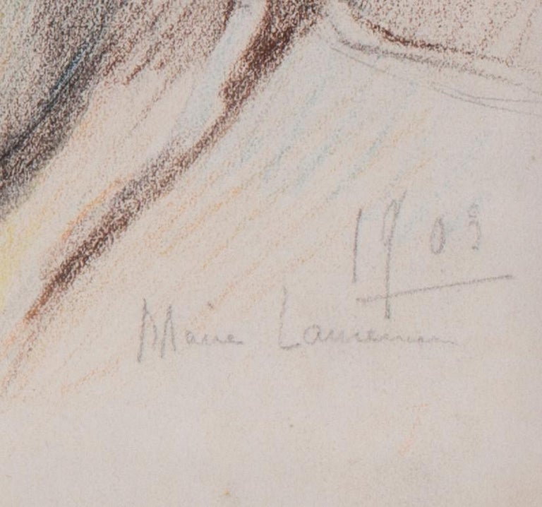 1903 portrait drawing by Marie Laurencin of her mother For Sale 4