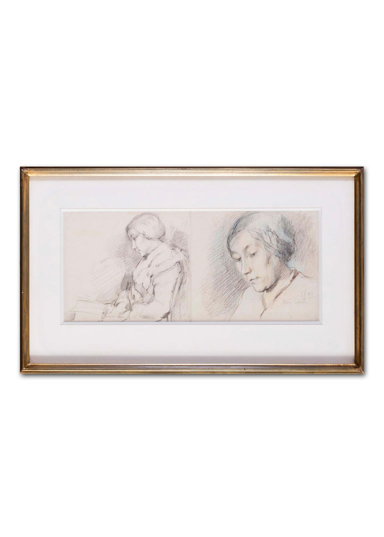 1903 portrait drawing by Marie Laurencin of her mother For Sale 6