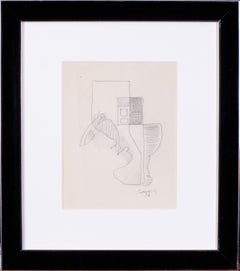 1926 drawing by French, cubist artist Leopold Survage