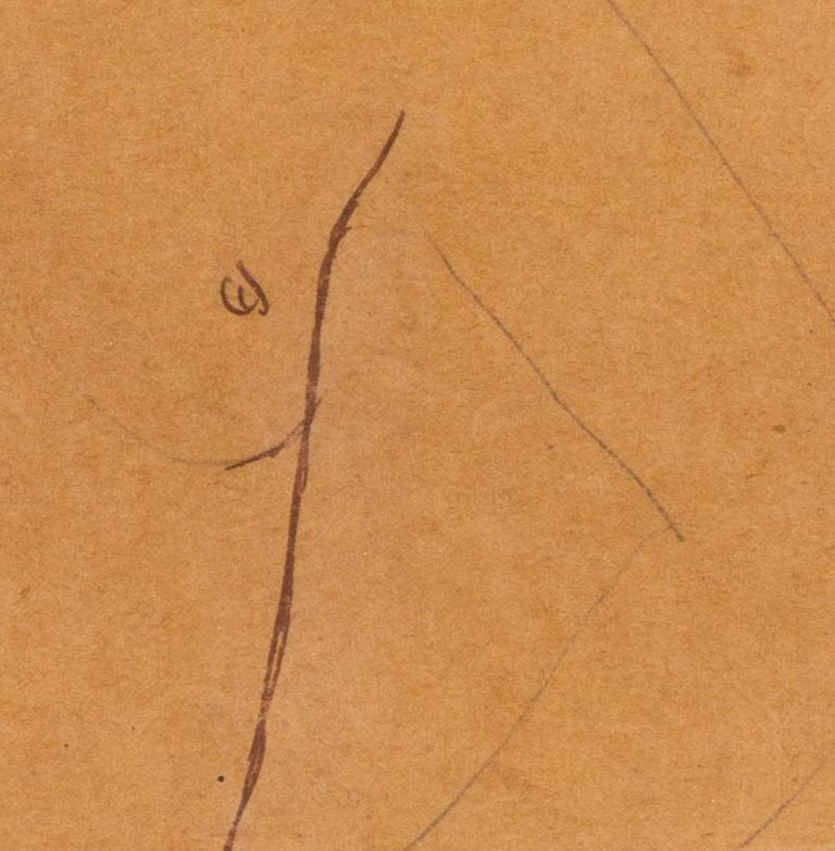 A Post Impressionist study of a nude by Czech artist Georges Kars For Sale 1