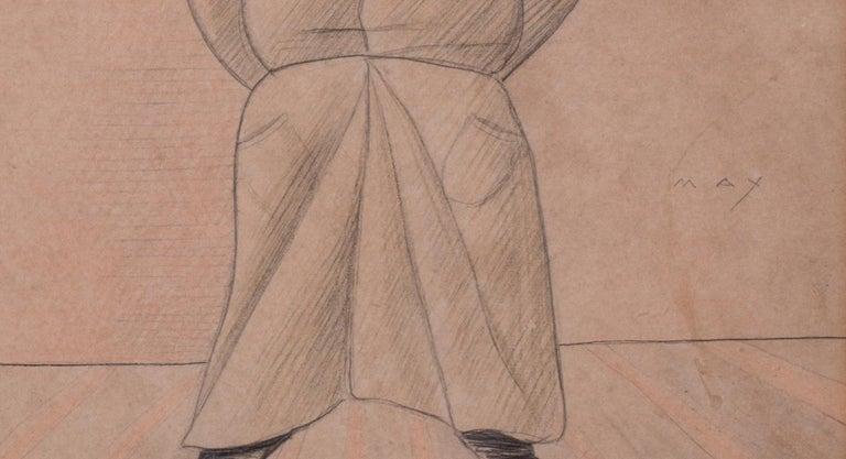 Max Beerbohm, 19th Century British caricature of Mr Harry Nichols  For Sale 1