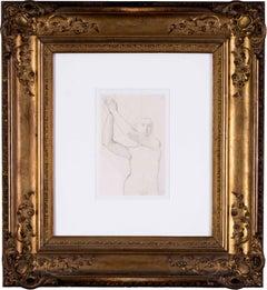 Ingres, 'Study for the Archangel Raphael of Saint-Ferdinand Chapel', Paris