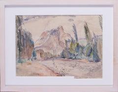 Leon Underwood, British 20th Century summer landscape