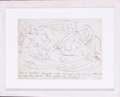 French early 20th Century drawing by the Cubist artist Andre Lhote