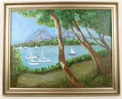 ART SALE 50% OFF SELECTED ITEMS Sailing on Long Island Sound Seascape