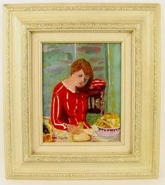 Impressionist Female  Figurative  Painting