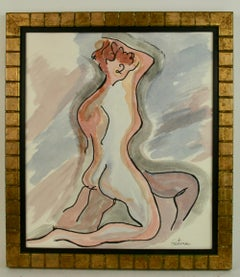 Gouache Nude