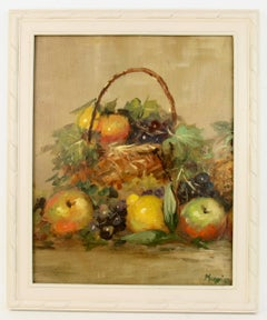 Italian Impressionist  Basket of Fruit