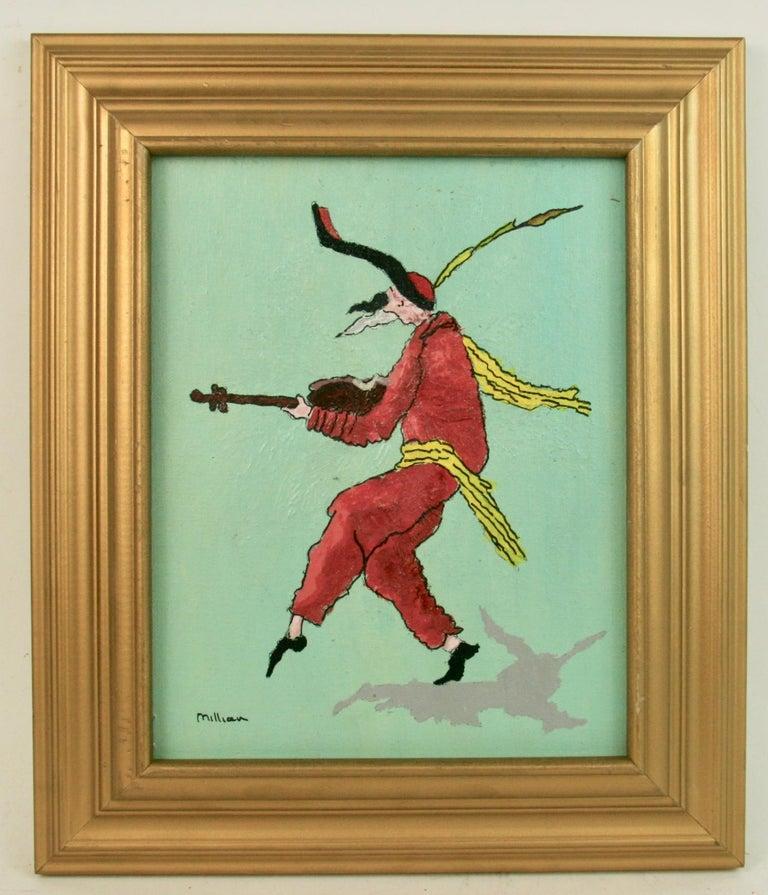 Millian Figurative Painting - Court Jester Figurative