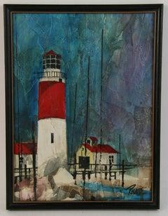 East Coast Lighthouse Seascape Landscape