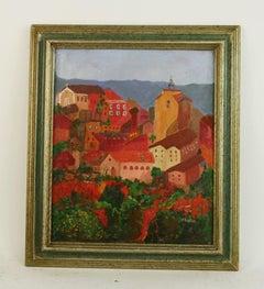 Roussillon  Southern France Landscape