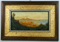 Naples Italy  Landscape Painting