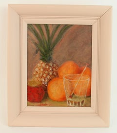 Pineapple Still Life Painting