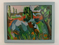Fauvist Abstract  Landscape