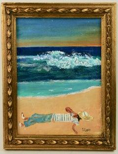 Beach  Siesta Painting
