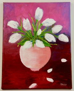 White Bouquet. Still Life
