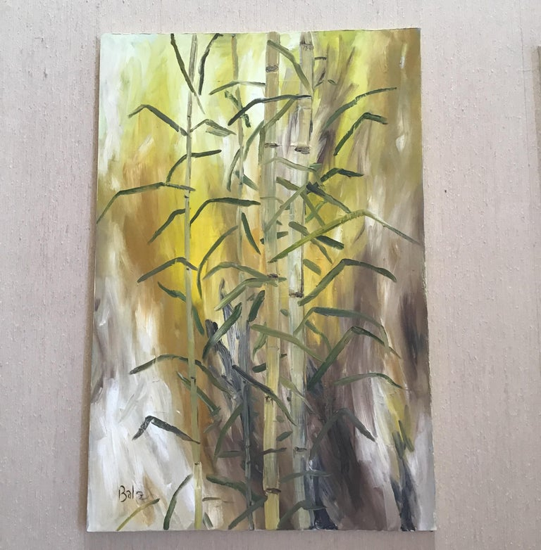 Balz Landscape Painting - Bamboo Painting