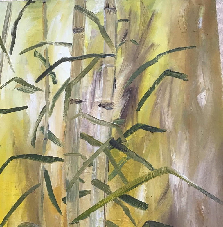 Bamboo Painting For Sale 1