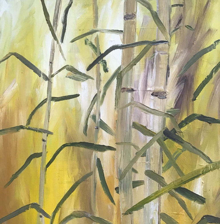 Bamboo Painting For Sale 2
