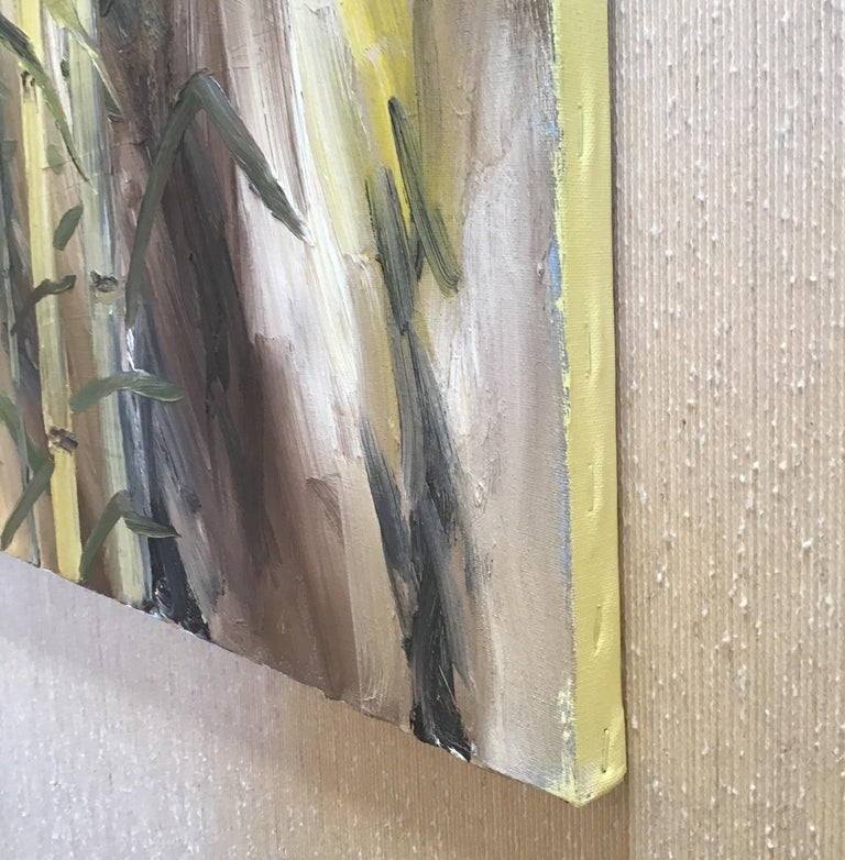 Bamboo Painting For Sale 3