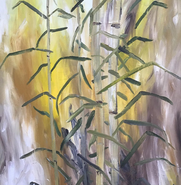 Bamboo Painting For Sale 4