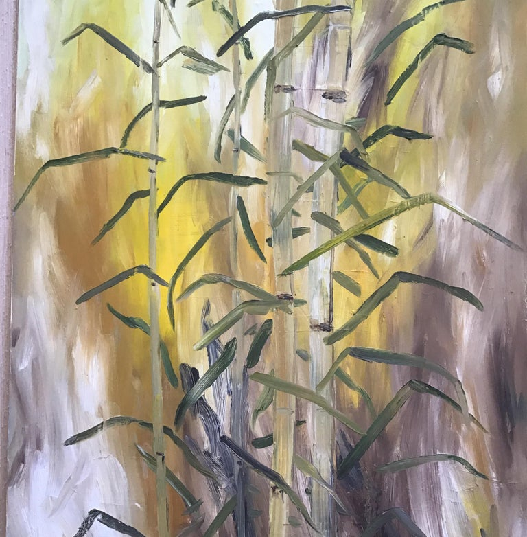 Bamboo Painting For Sale 5