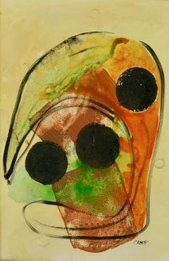 Mask Figurative  Abstract