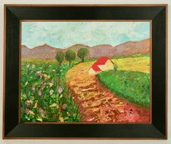 Provence  Country House Landscape  Painting