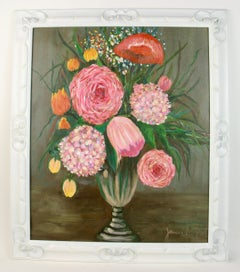 Pink Flower   Bouquet Still-life
