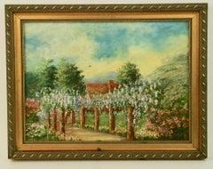 French Garden  Landscape