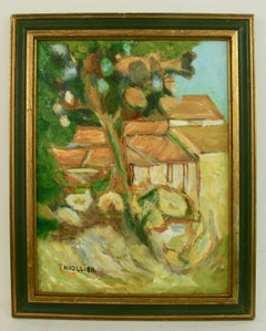 French Village Landscape