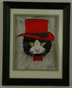 Felix the Cat in Red Top Hat