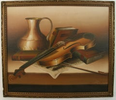 Violin Musical Still Life