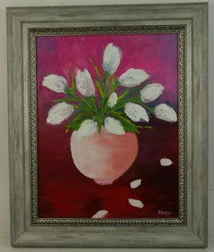 Tulip Bouquet Floral  Painting