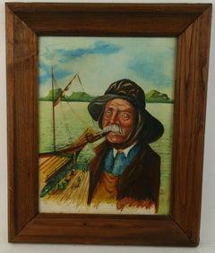 Neapolitan Sea Captain Portrait Landscape