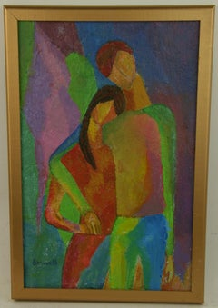 Young Love Impressionist Painting