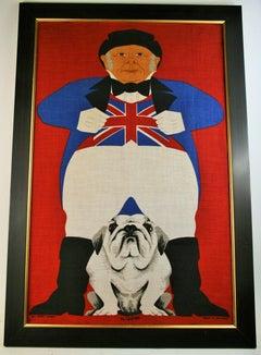 Englishman and His Bulldog